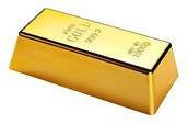 Investment gold bar