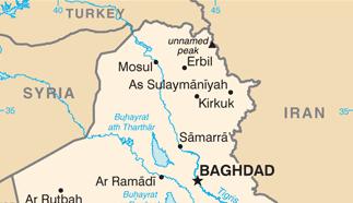 Lag om olja och gas i irakiska kurdistan nära