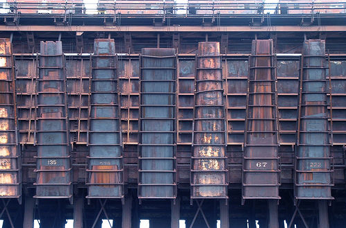 Dockningsstation för järnmalm