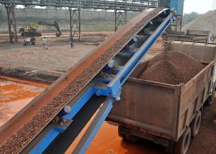 Kraftigt prisfall på järnmalm förväntas