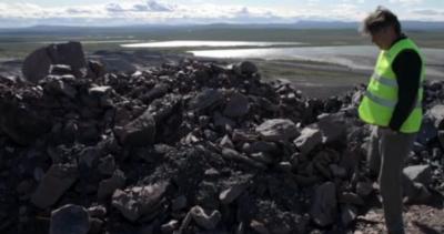 LKAB börjar förädla dumpad järnmalm