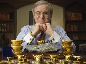 Jim Sinclair med guld som investering och för utsmyckning