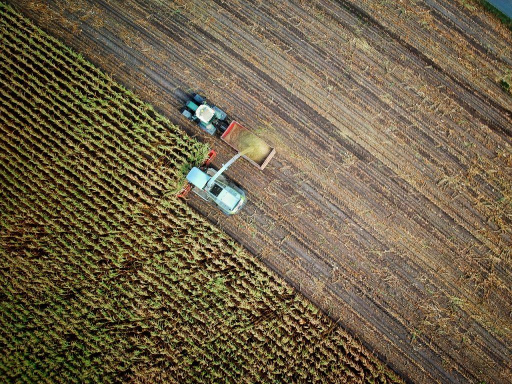 Jordbruk från ovan