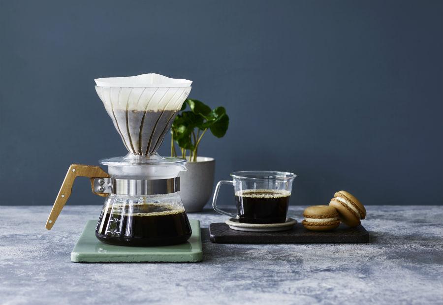Bryggkaffe i kopp och kanna