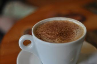 Kaffe redo för ett prisrally