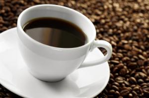 Kaffekopp och bönor - En av de största råvarorna