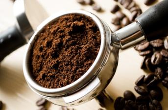 Kaffe, ett år från toppnivån
