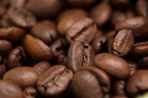 Kaffebönor från den indiska marknaden