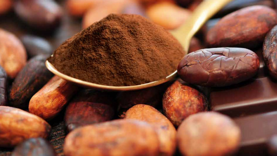 Kakao, mald och bönor