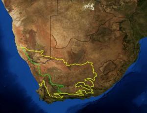 Karoo-regionen i Sydafrika har mängder av shale gas