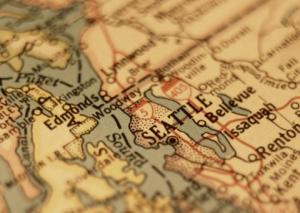 Karta över USA - Ytterligare delstat inför guld som betalningsmedel