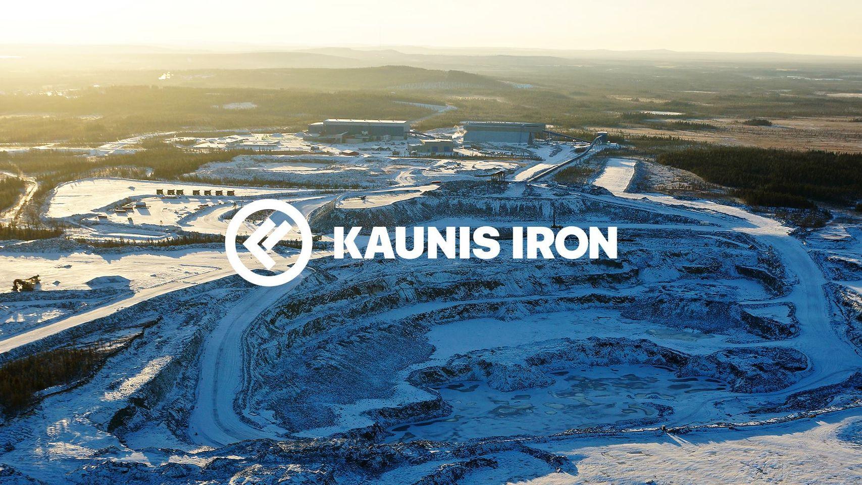 Kaunis Irons gruva