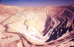 Koppargruva - Produktion av koppar via dagbrott