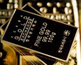 Sydkorea lanserar handelsplats för guld