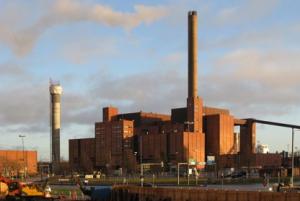 Kraftverk går över från kol till naturgas för att producera el-energi