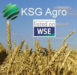 Jordbruksföretaget KSG Agro i Ukraina