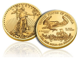 Liberty Eagle - Guldmynt från US Mint
