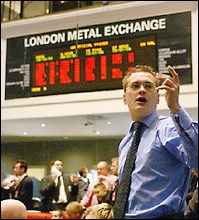 Molybden handlas på London Metal Exchange