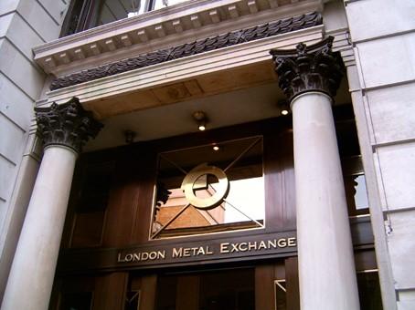 Entre till London Metal Exchange