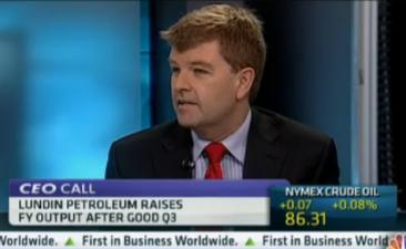 Ashley Heppenstall om Lundin Petroleum och oljemarknaden