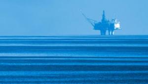 Oljeplattform tillhörande Lundin Petroleum