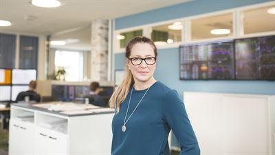Matina Rosenberg, analytiker och meteorlog på Bixia