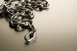 Metal chain by Philipe Put