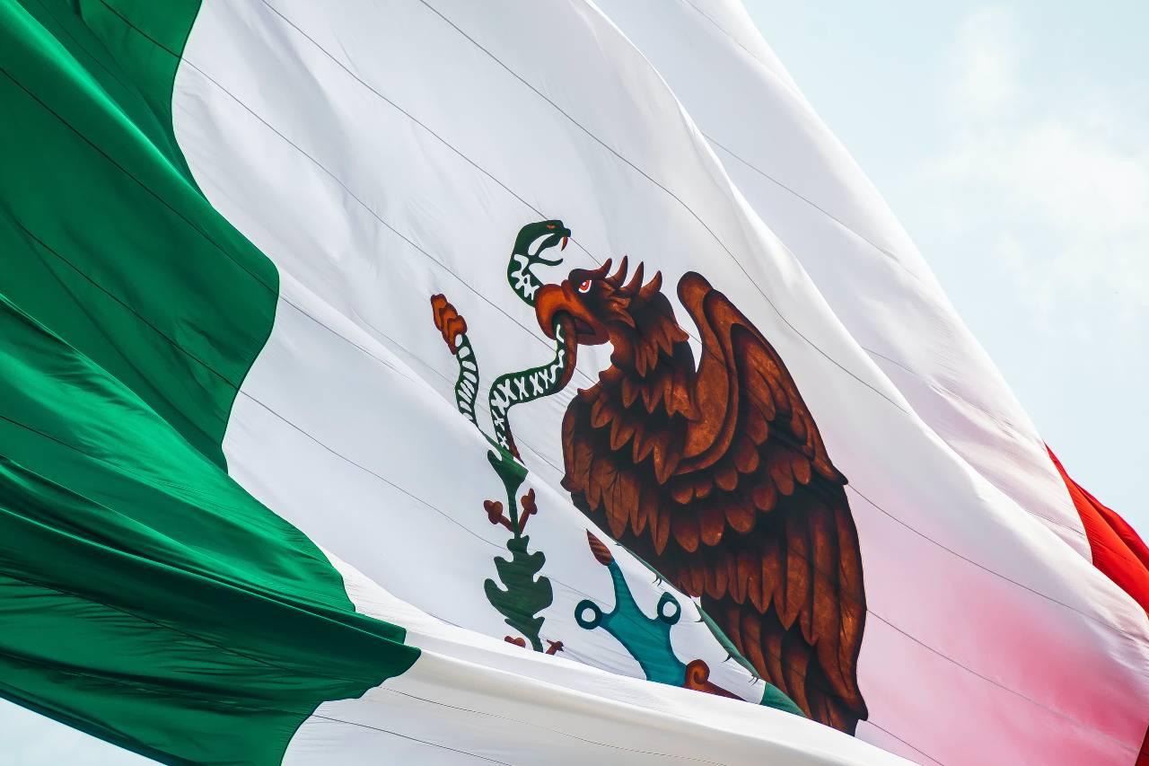 Mexikos flagga
