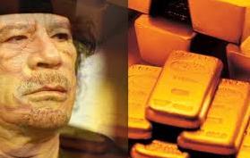 Muammar Gaddafi, Libyen störtade diktator, sålde guld för miljarder