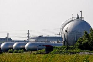 Naturgas-anläggning i USA