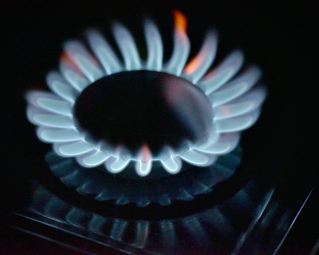 Naturgas på spis