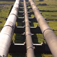 Naturgas exporteras via pipeline från Ryssland