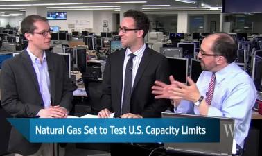 Naturgas på väg att testa lagringskapaciteten i USA