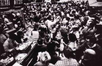Chicagobörsen stänger ned handeln med råvaror