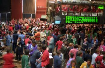 Råvarubörsen i New York stängs