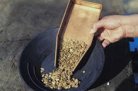 Nya guldfyndigheter minskar med 45 procent