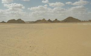 Öken i Egypten