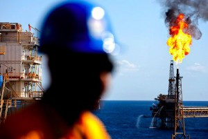 Olja av typen Brent Blend produceras