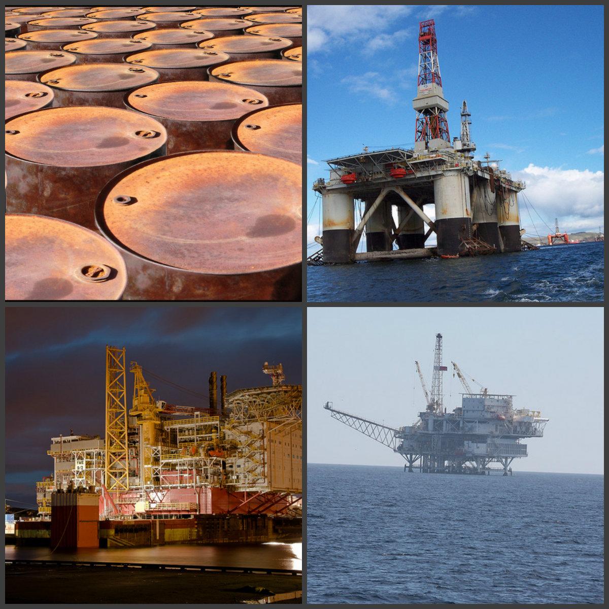 Oljefat och produktion