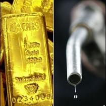 Relation mellan olja och guld - Pris