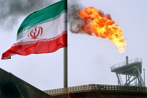 Olja produceras i Iran för export till EU