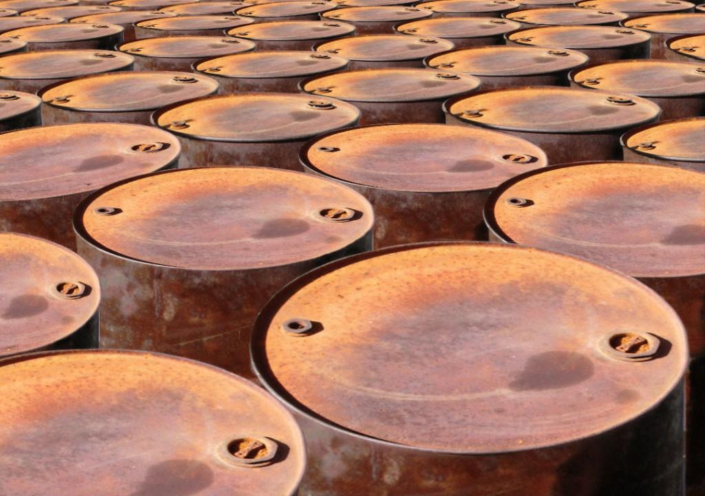 Rostiga oljefat