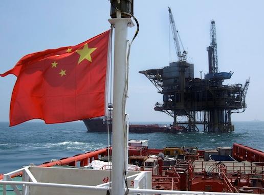 Oljeproduktion i Kina