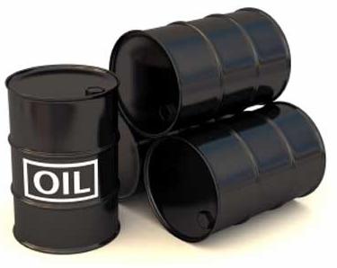 Tunnor av olja - Crude oil av olja sorter