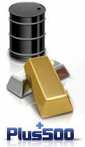 Handla olja och guld hos Plus 500