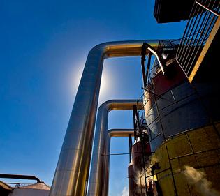 Produktion av etanol för energi