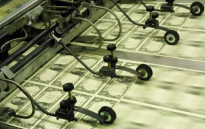 Quantitative easing - Stater trycker pengar