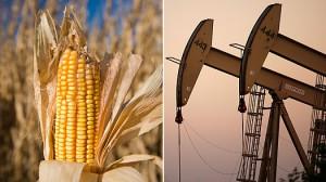 Råvaruhandel i majs och olja