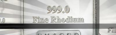 Rodium är ädelmetallen med stor potential
