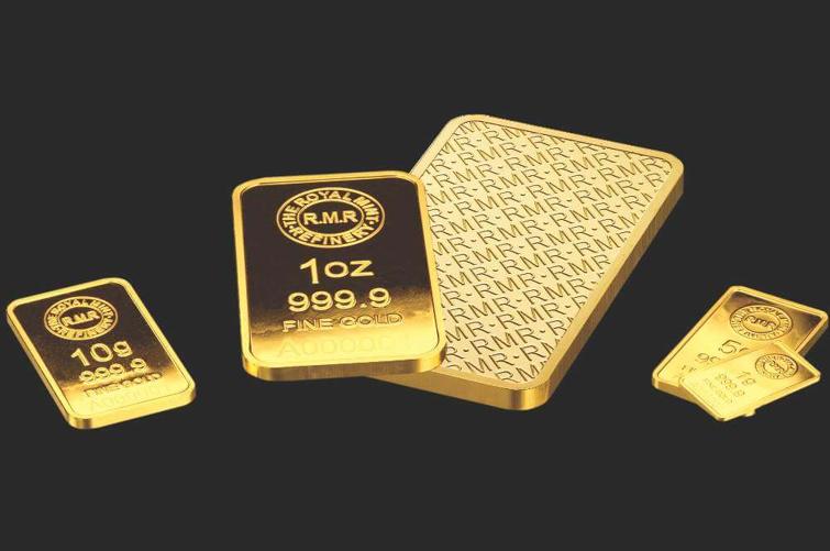 Guldtackor från Royal Mint